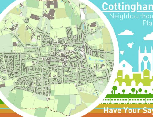 Integreat Plus win the commendation award for the Cottingham Neighbourhood Plan