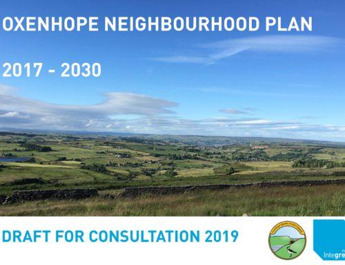 Oxenhope Neighbourhood Plan – Public Consultation